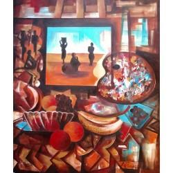 Bodegom Africano (v. Matisse)