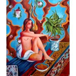 Desnudo Arabesco
