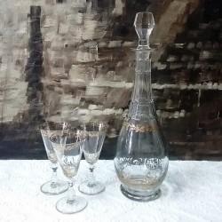 Licoreira + 3 copos