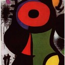 Fascinating Personage - Joan Miro, 1968