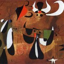 Characters in the Night - Joan Miro, 1950