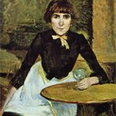 At La Bastille (Portrait of Jeanne Wenz) - Henri de Toulouse-Lautrec, 1889