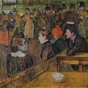 Ball at the Moulin de la Galette - Henri de Toulouse-Lautrec, 1889