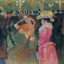 At the Moulin Rouge, The Dance - Henri de Toulouse-Lautrec, 1890