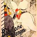 Babylon German by Victor Joze - Henri de Toulouse-Lautrec, 1894
