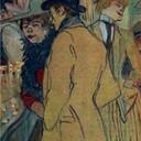 Alfred la Guigne - Henri de Toulouse-Lautrec, 1894