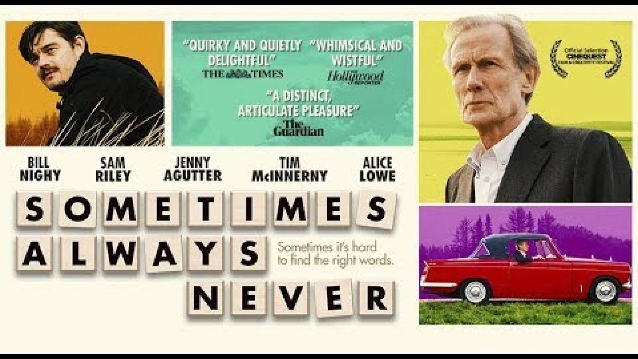 SOMETIMES ALWAYS NEVER - Official U.S. Trailer